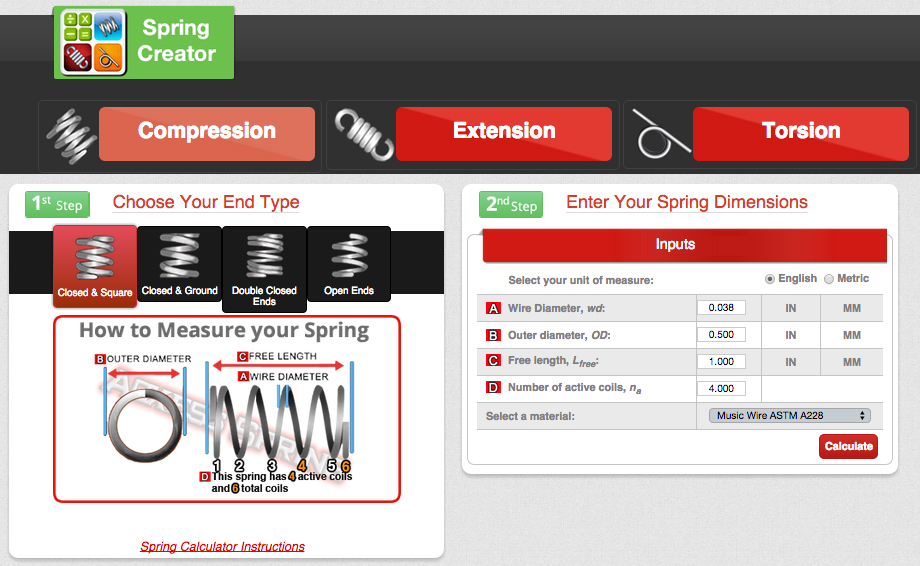 compression-spring-calculator