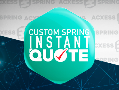custom spring manufacturer instant quote logo