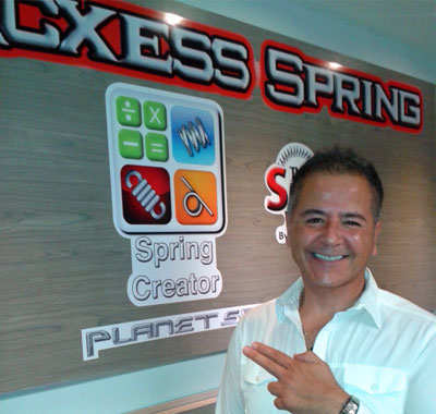 Picture of Acxess Spring Company founder and president