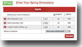 tension-extension-spring-calculator-instructions-step-2