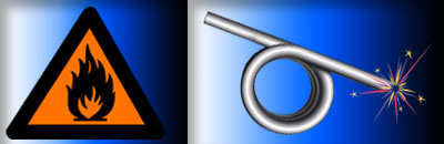 torsion spring material selection for chemical or flamable environments